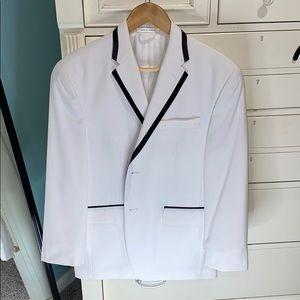 Sean John White Dinner Suit Jacket